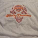 Hímzett Harley-Davidson női alsó 02