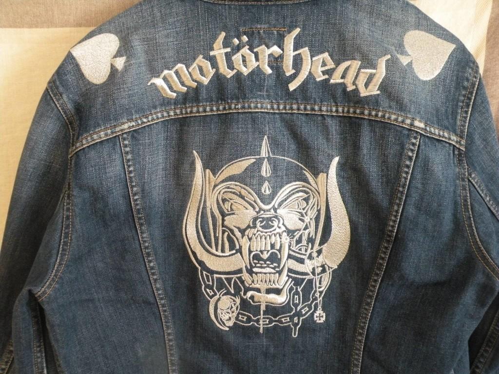 Motörhead hímzés