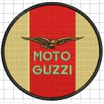 Hímzett Moto Guzzi 04