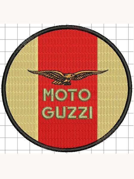Moto Guzzi felvarró 04