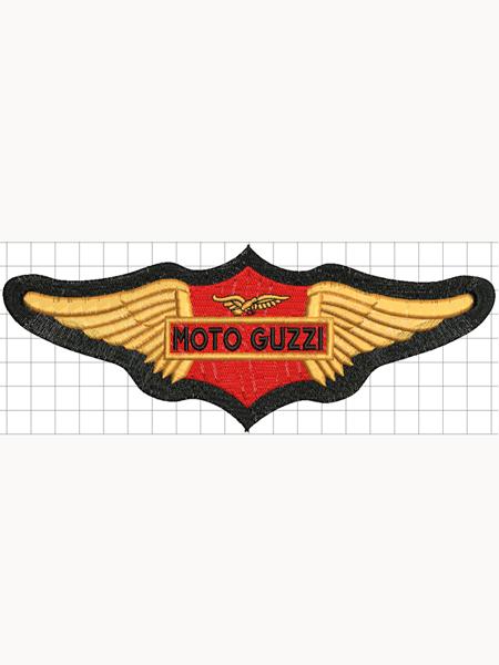 Moto Guzzi felvarró 03