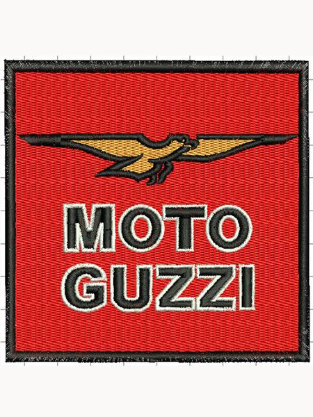 Moto Guzzi felvarró 02