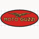 Hímzett Moto Guzzi 01