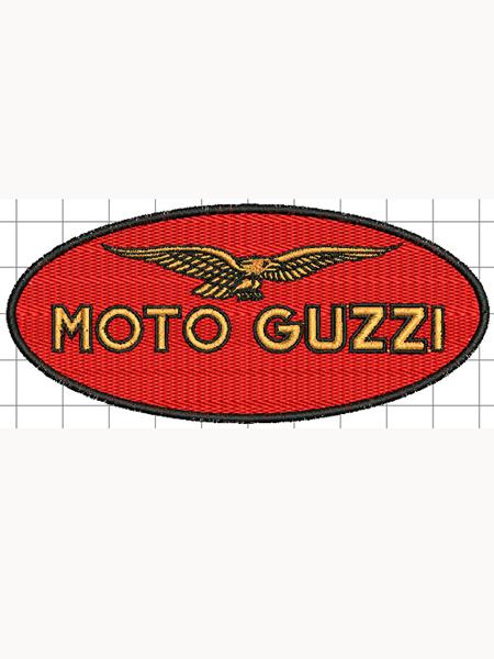 Moto Guzzi felvarró 01