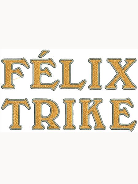Félix Trike hímzés