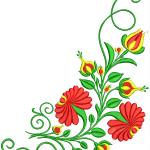Szűcs hímzésminta 603-10 Csongrád