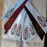 Hímzett nyakkendő 08;