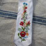 Hímzett nyakkendő 09;