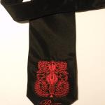 Hímzett nyakkendő 17;