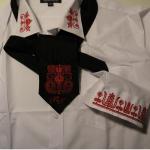 Hímzett nyakkendő 18;
