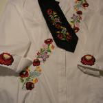 Hímzett nyakkendő 19