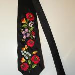 Hímzett nyakkendő 21;
