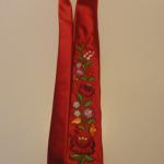 Hímzett nyakkendő 28