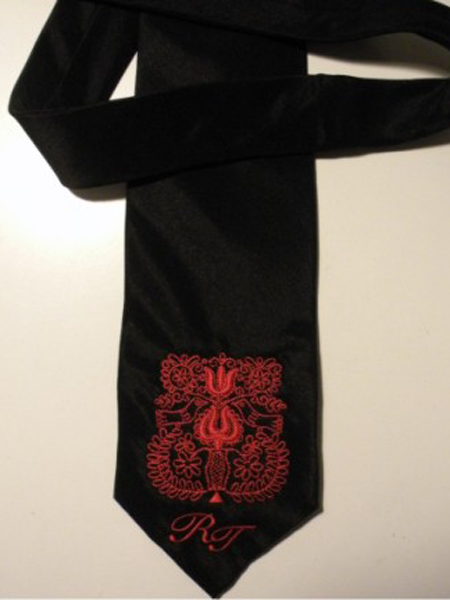 681866cd75 Hímzett nyakkendők – GÉPI hímzés