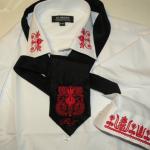 Hímzett nyakkendő 34