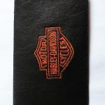 Hímzett Harley-Davidson mobiltok 01