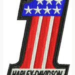 Harley-Davidson felvarró 10